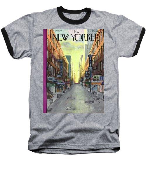New Yorker May 1st, 1948 Baseball T-Shirt