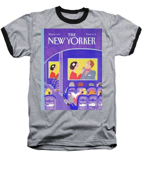 New Yorker May 20th, 1991 Baseball T-Shirt