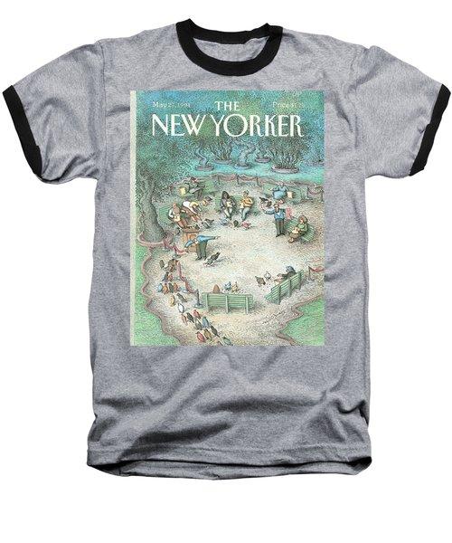 New Yorker May 27th, 1991 Baseball T-Shirt