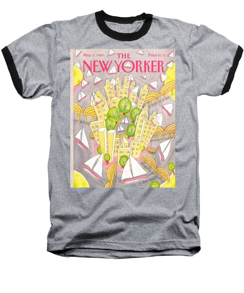 New Yorker May 2nd, 1988 Baseball T-Shirt