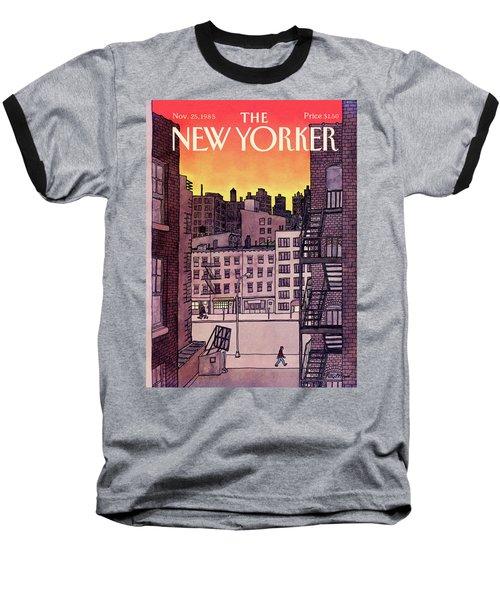 New Yorker November 25th, 1985 Baseball T-Shirt