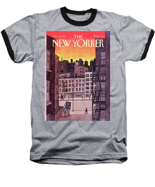 New Yorker November 25th, 1985 Baseball T-Shirt