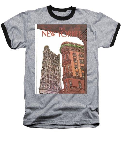 New Yorker November 9th, 1981 Baseball T-Shirt