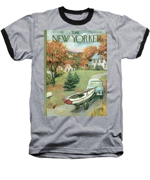 New Yorker October 11th, 1958 Baseball T-Shirt