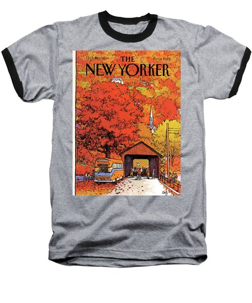 New Yorker October 19th, 1981 Baseball T-Shirt