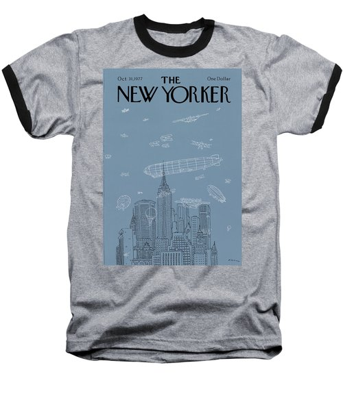 New Yorker October 31st, 1977 Baseball T-Shirt
