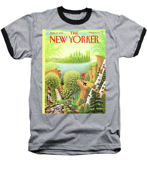 Green New York Baseball T-Shirt