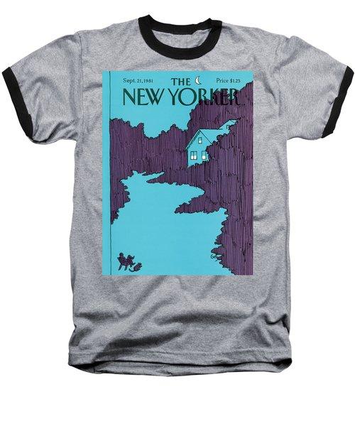 New Yorker September 21st, 1981 Baseball T-Shirt