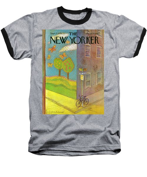 New Yorker September 27th, 1976 Baseball T-Shirt