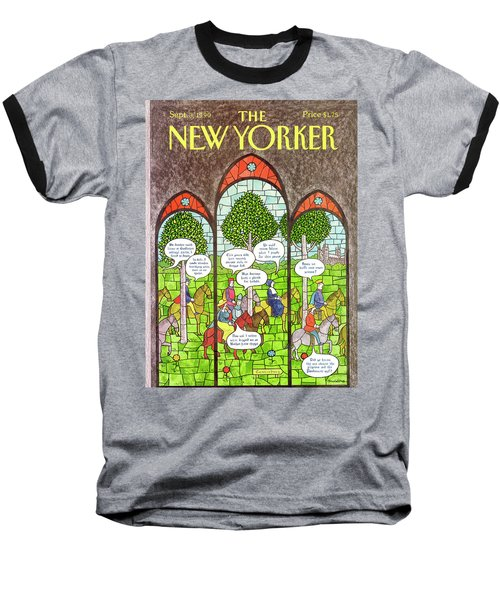 New Yorker September 3rd, 1990 Baseball T-Shirt