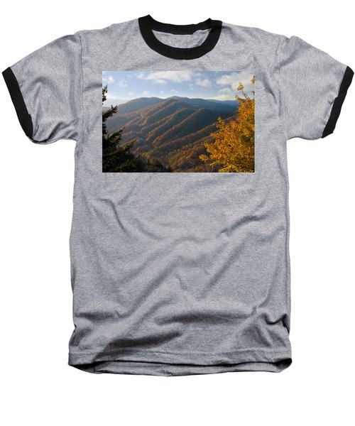 Newfound Gap Baseball T-Shirt by Melinda Fawver