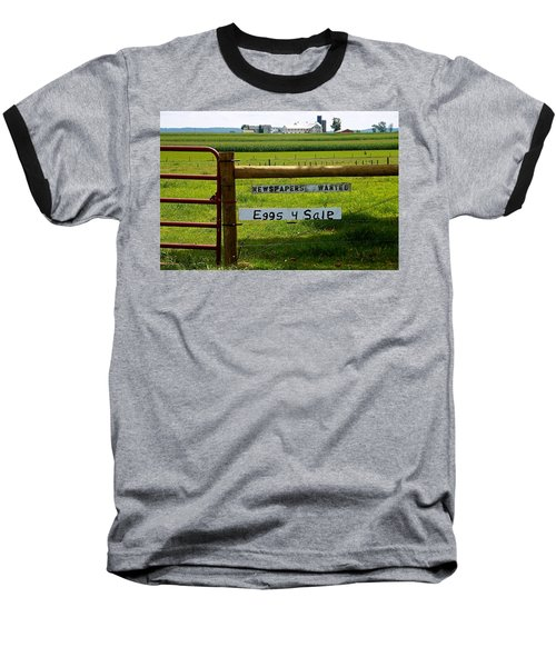 Newspapers Wanted Eggs 4 Sale Baseball T-Shirt