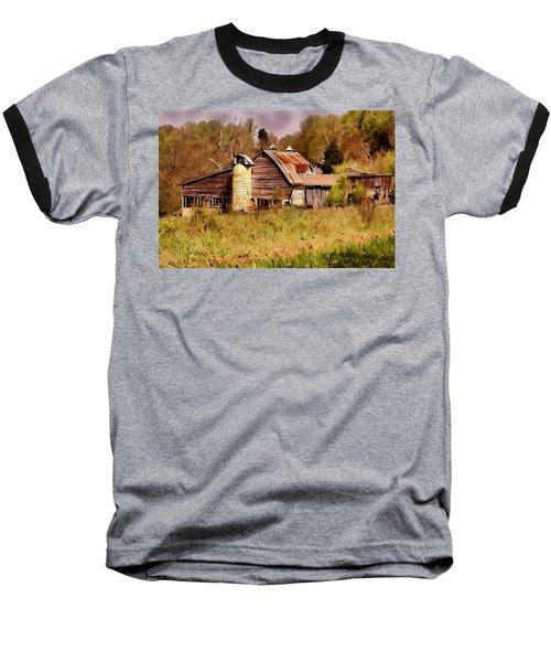 Newton Township Barn Baseball T-Shirt