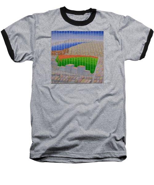 Ney York Cityscape Baseball T-Shirt