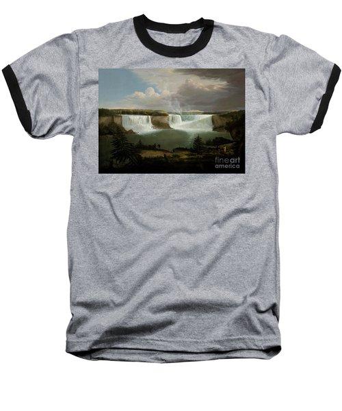 Niagra Falls By Alvan Fisher Baseball T-Shirt