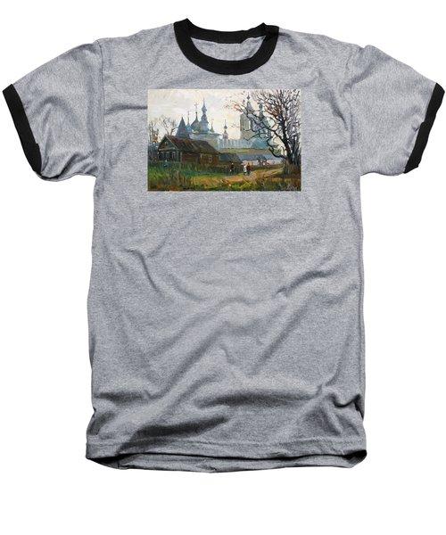Nicholas Uleyminsky Monastery Baseball T-Shirt