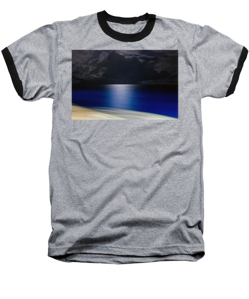 Night And Water Baseball T-Shirt by Hanny Heim