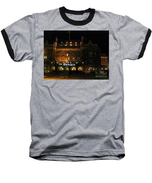Night At The Empress Hotel Baseball T-Shirt