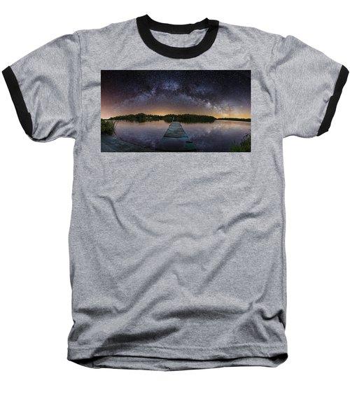 Night At The Lake  Baseball T-Shirt