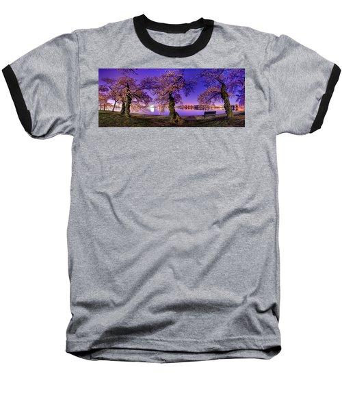 Night Blossoms 2014 Baseball T-Shirt