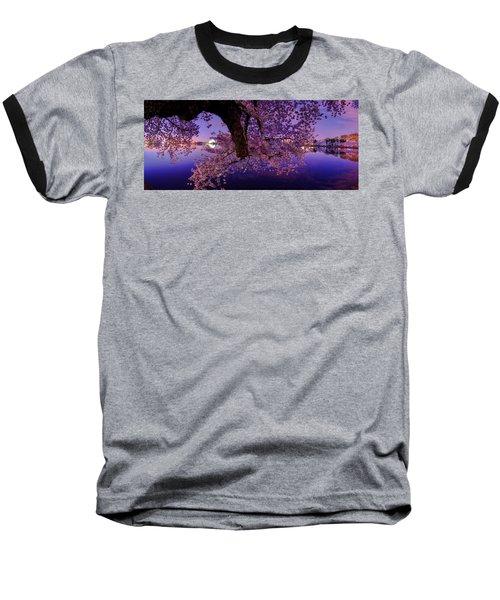 Night Blossoms Baseball T-Shirt
