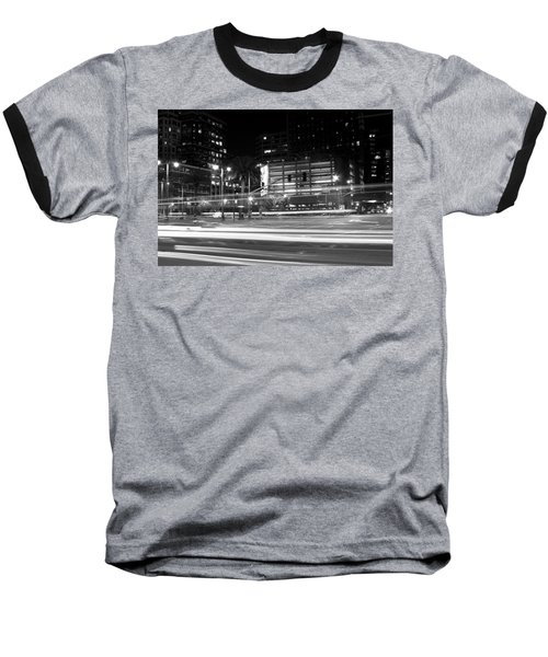 Night Blurs Baseball T-Shirt