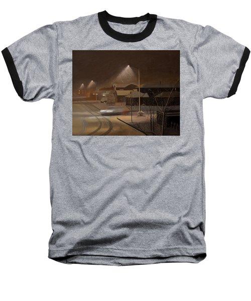 Night Drive Baseball T-Shirt by Thu Nguyen