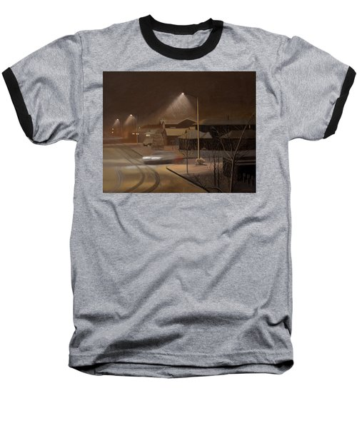Night Drive Baseball T-Shirt