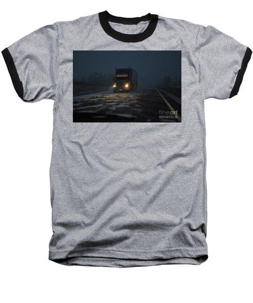 Night Driver Baseball T-Shirt