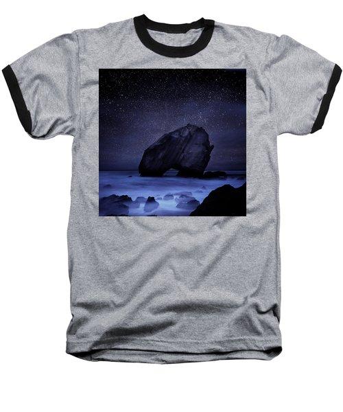 Night Guardian Baseball T-Shirt by Jorge Maia