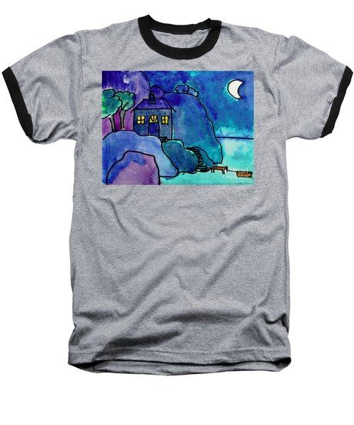 Night Harbor Baseball T-Shirt