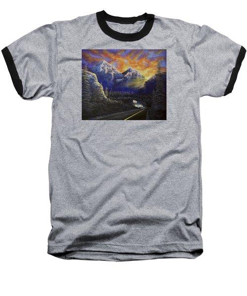 Night Life Baseball T-Shirt
