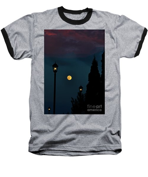Night Lights Baseball T-Shirt