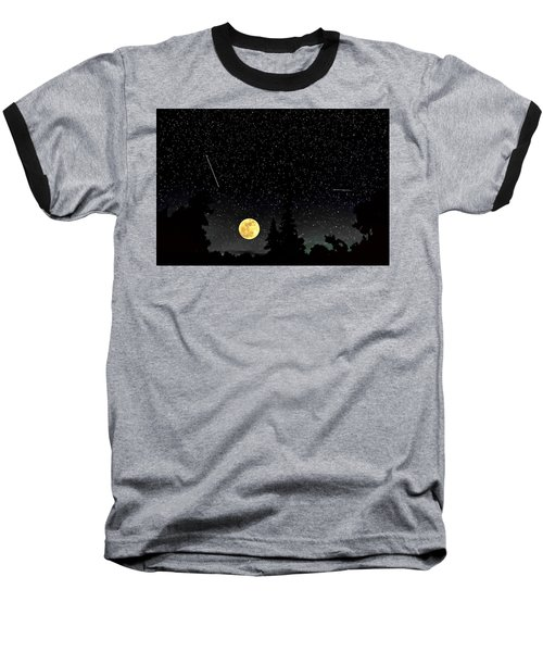 Night Moves Baseball T-Shirt