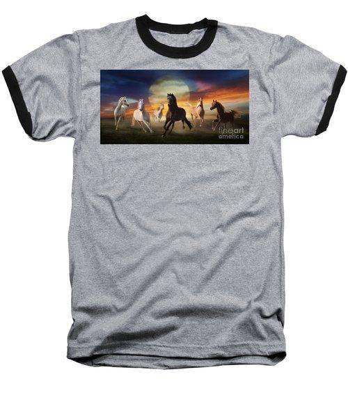 Night Play Baseball T-Shirt