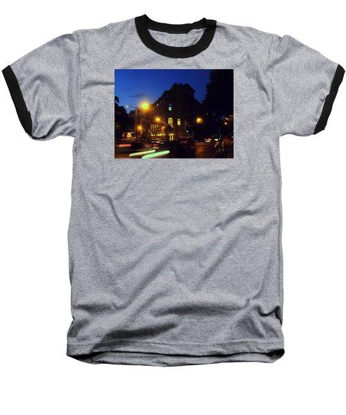 Night View Baseball T-Shirt by Salman Ravish