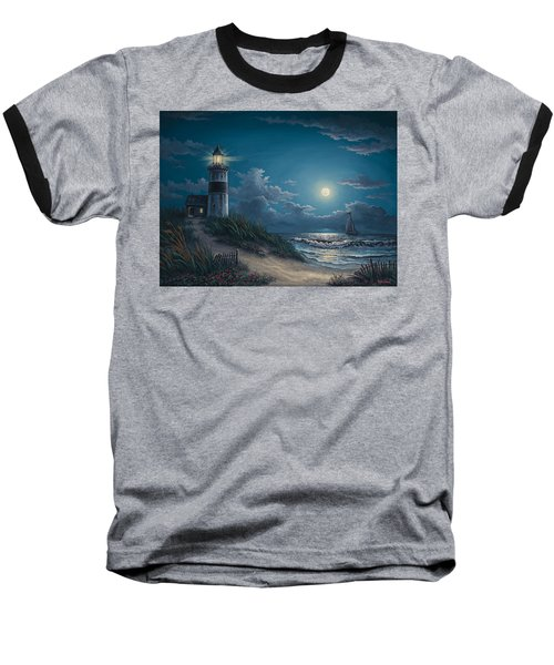 Night Watch Baseball T-Shirt by Kyle Wood