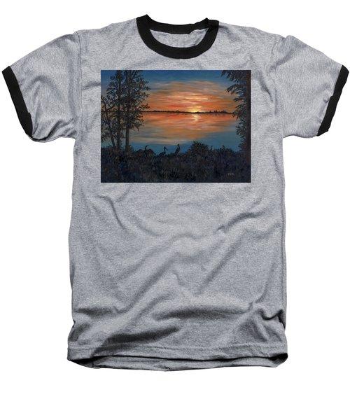 Nightfall At Loxahatchee Baseball T-Shirt