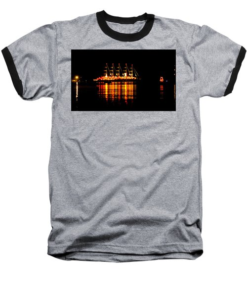 Nightlife On The Water Baseball T-Shirt