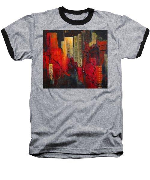 Nightscape Baseball T-Shirt