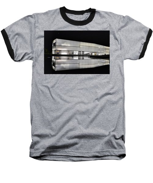 Nighttime Reflections Baseball T-Shirt