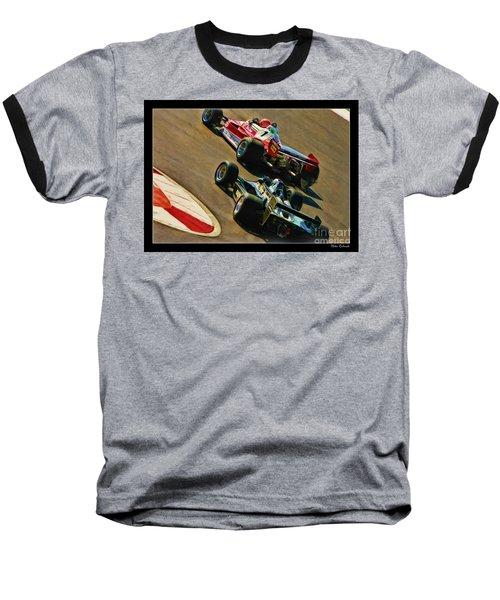 Niki Lauda Leads Mario Andretti Baseball T-Shirt