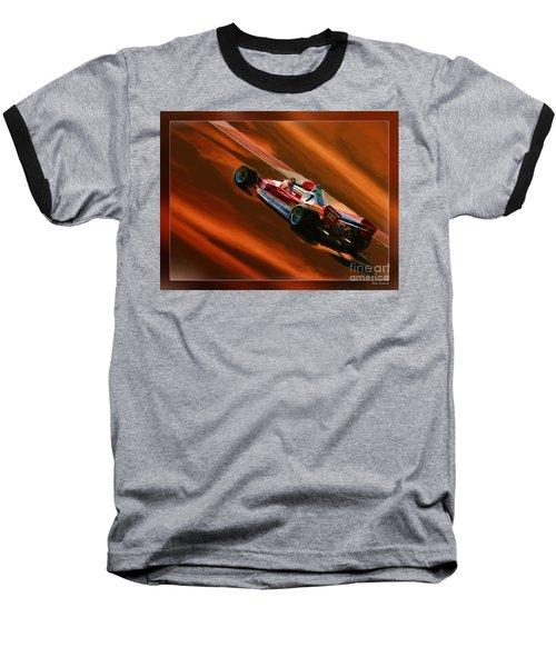 Niki Lauda's Ferrari Baseball T-Shirt