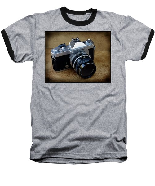 Nikkormat Ft3 Camera Baseball T-Shirt