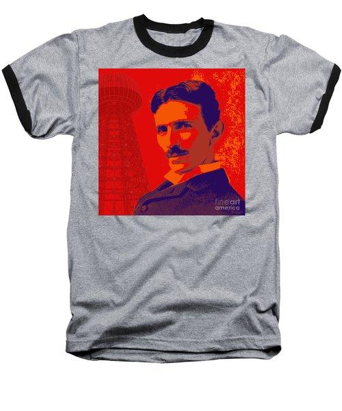 Nikola Tesla #1 Baseball T-Shirt