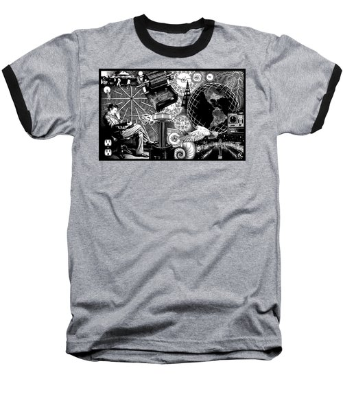 Tesla Baseball T-Shirt