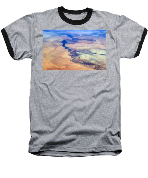 Baseball T-Shirt featuring the photograph Nile River From The Iss by Science Source