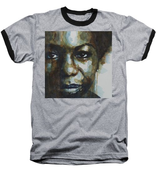 Nina Simone Ain't Got No Baseball T-Shirt