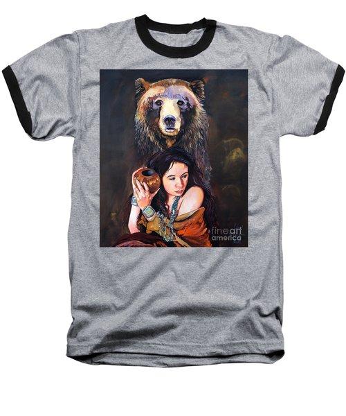Nine Stars Woman - Bear Medicine Baseball T-Shirt