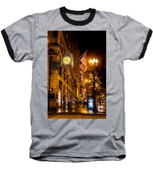 Nine Twenty Two In Chicago And All Is Well Baseball T-Shirt